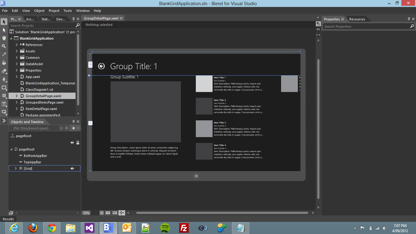 Design Time support in Windows 8 C# XAML | Macca Blog